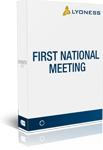 Primeira reunião nacional