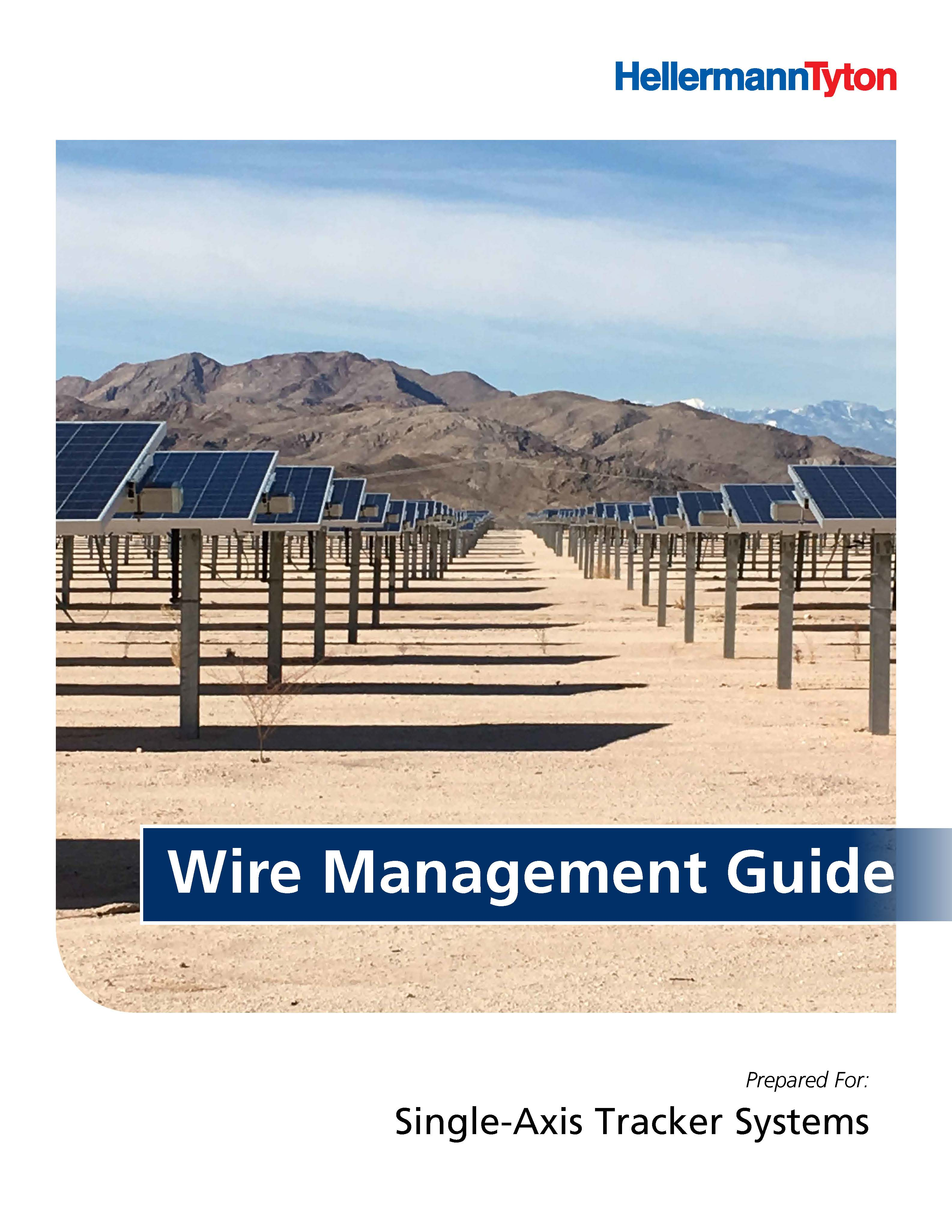 Wire Management Guide - Single-Axis Tracker Systems