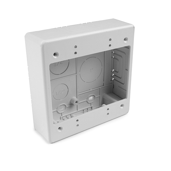 Dual Gang Junction Box, 1-1/2