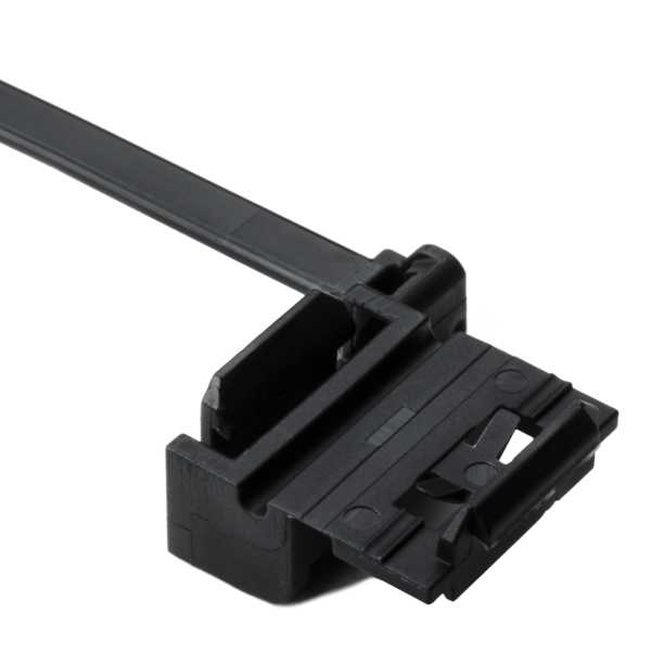 Wire Clamping Cable Ties, Version B, Diameter Attachment .13