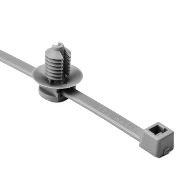 2-Piece Cable Tie/Fir Tree Mount, 8.0