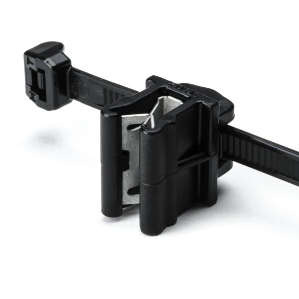 Outside Serrated Cable Tie & Edge Clip, 6.0