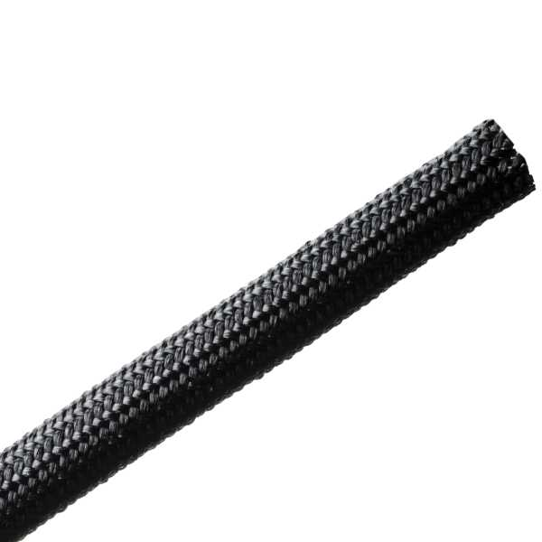 Braided Sleeving, Resin Coated Fiberglass, .25