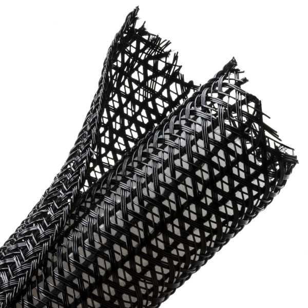 Braided Sleeving, Split Wrap, 1.25