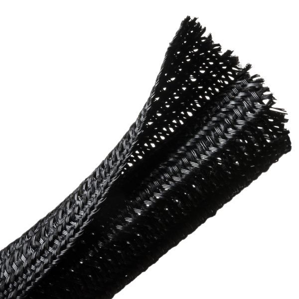 Braided Sleeving, Split Wrap, Flame Retardant, .75