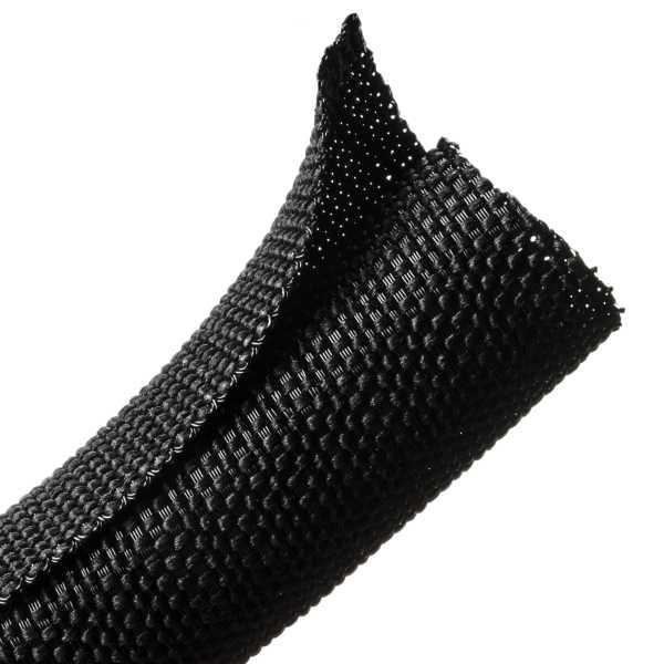 Braided Sleeving, Split Wrap Woven, 3/4