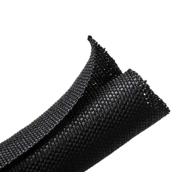 Braided Sleeving, Split Wrap Woven, 1.0