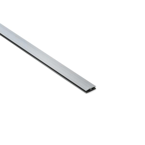 Wiring Duct Straight Connector, Gray, PVC, 120ft/carton