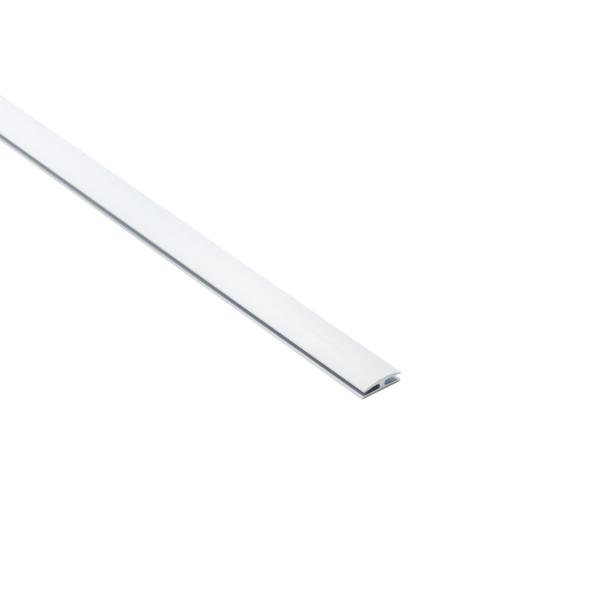 Wiring Duct Straight Connector, White, PVC, 120ft/carton