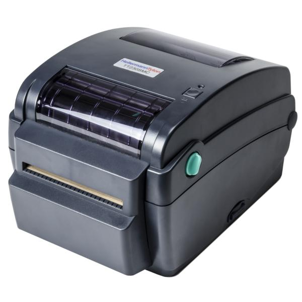 TT230SMC Thermal Transfer Printer with Cutter, 300 DPI, Black, 1/pkg