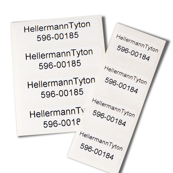 Thermal Transfer Labels, 1.85