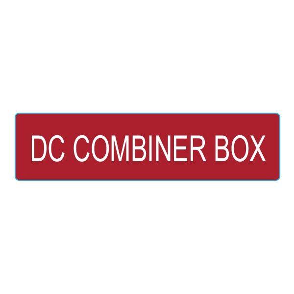 Solar Label, DC COMBINER BOX, 4.0