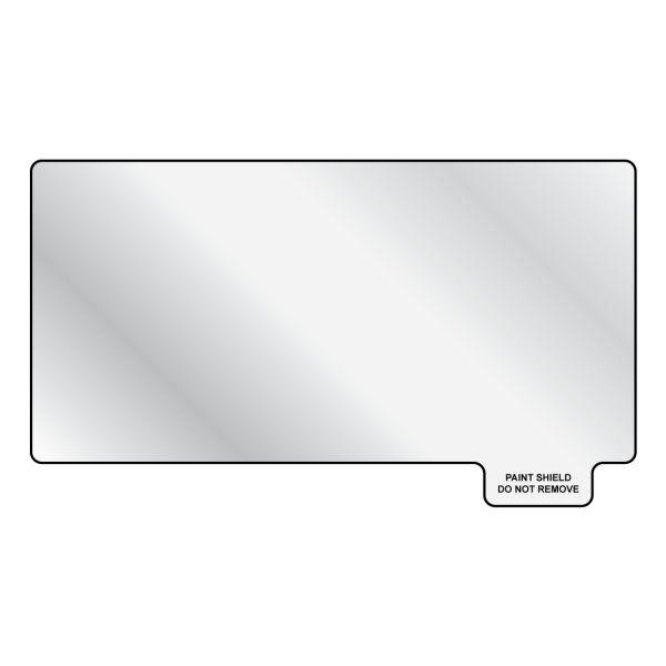 Peel-Off Paint Shield, UV Stable, 3.5