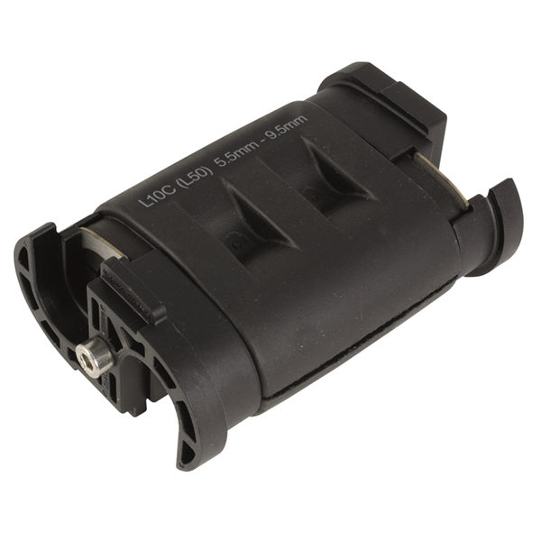 Cablelok L40C 15.0 - 18.5 mm x 1, CR, Black, 1/pkg