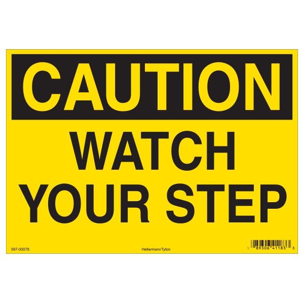 Caution Sign, 10