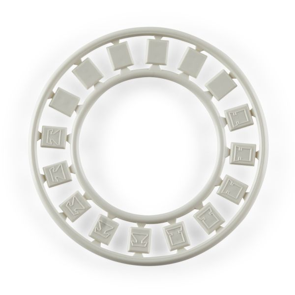 Modular Faceplate Icon Ring, Office White, 6/pkg