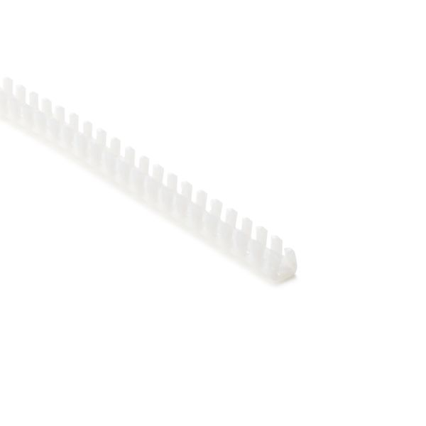 Grommet, Panel Thickness 0.051''-0.083'', PTFE, Natural, 9.7ft/pkg