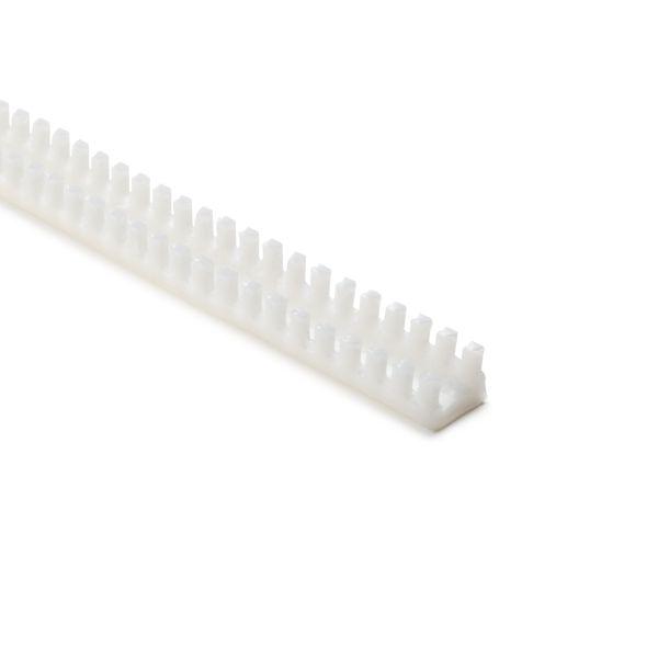 Grommet, Panel Thickness 0.130''-0.189'', PTFE, Natural, 9.7ft/pkg