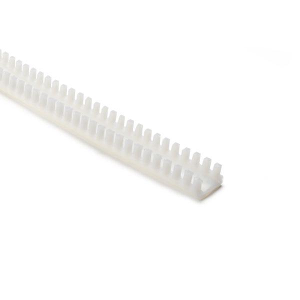 Grommet, Panel Thickness 0.189''-0.256'', PTFE, Natural, 9.7ft/pkg