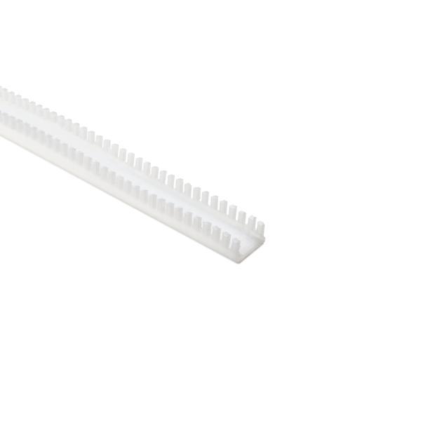 Grommet, Panel Thickness 0.319''-0.382'', PTFE, Natural, 9.7ft/pkg