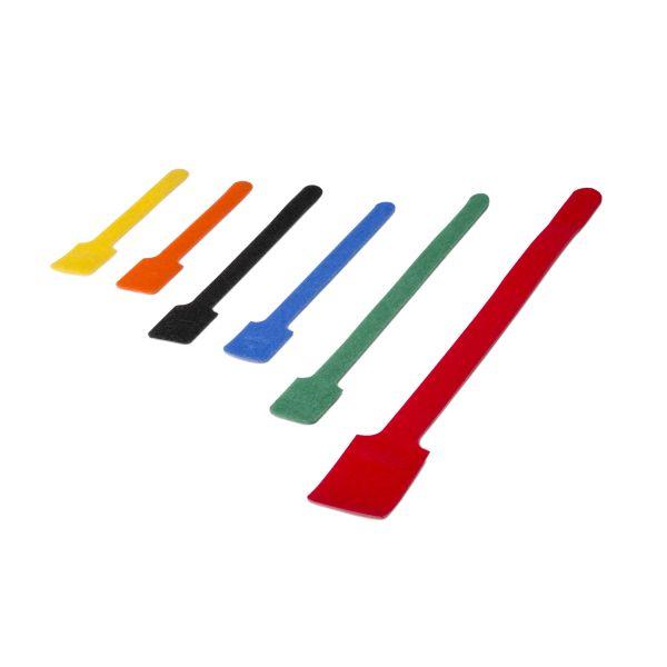 Grip Tie Assortment Pack, Various Longs and Colors, PA6/PP, 6/pkg