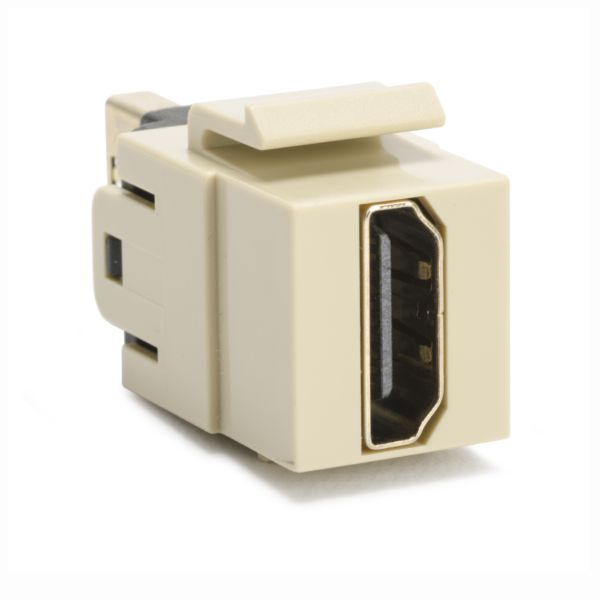 HDMI Coupler Module, Ivory, 1/bag