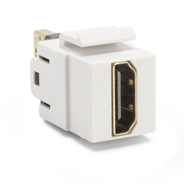 HDMI Coupler Module, White, 1/bag