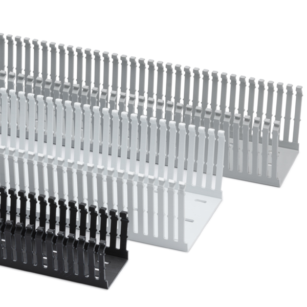 High Density Slotted Wall Wiring Duct, 1.5