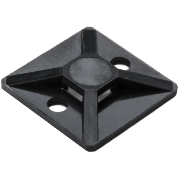 Screw Mount Cable Tie Base, .75