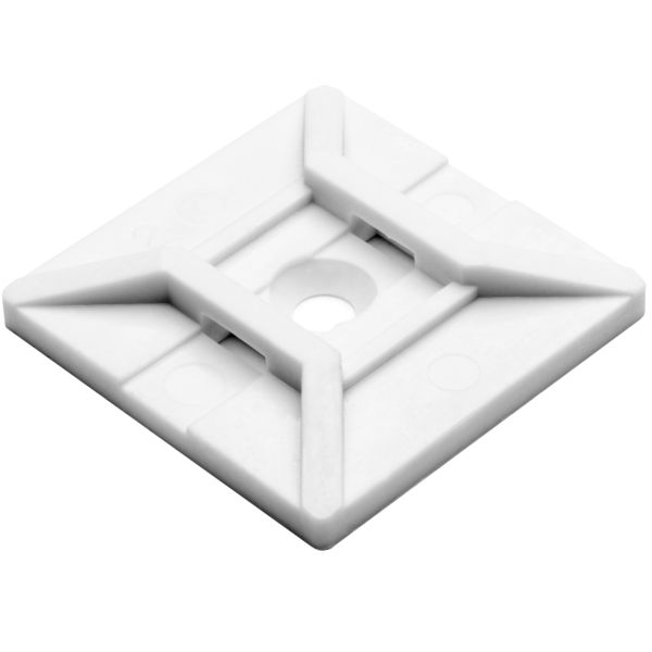 Screw Mount Cable Tie Base, 1.12