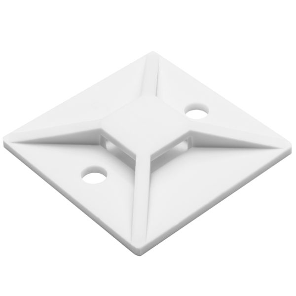 Screw Mount Cable Tie Base, 1.49