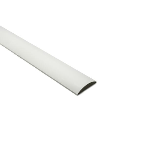 InfoStream Multi-Channel Raceway Cover, 10 ft Long, PVC, Office White, 60ft/pkg