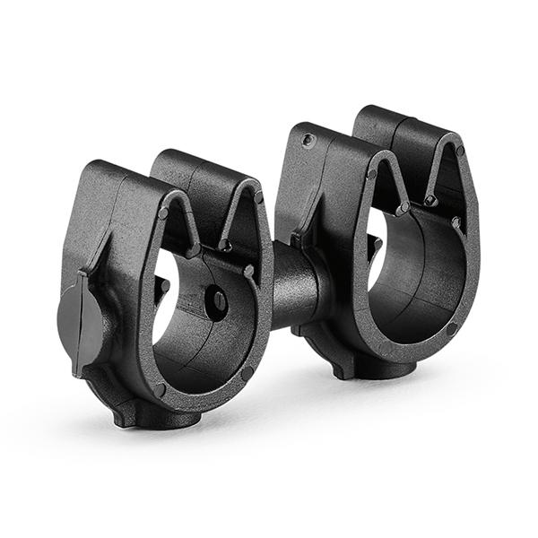 MOC Clip to MOC Clip, 10 mm, 10 mm, PA66HIRHSUV, Black, 1000/ctn