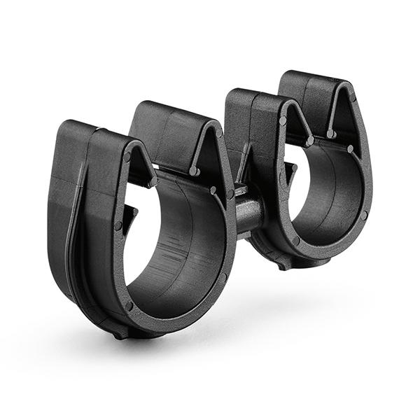 MOC Clip to MOC Clip, 12 mm, 16 mm, PA66HIRHSUV, Black, 2000/ctn