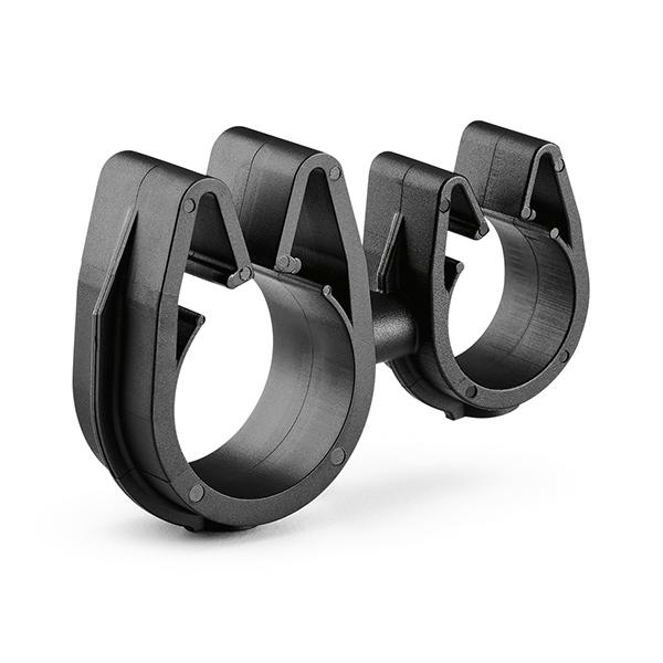 MOC Clip to MOC Clip, 16 mm, 19 mm, PA66HIRHSUV, Black, 2000/ctn