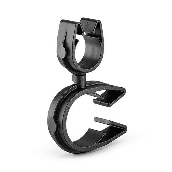 MOC Clip to MOC Clip Perpendicular, 26 mm, 16 mm Perpendicular, PA66HIRHSUV, Black, 2000/ctn