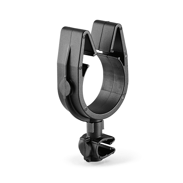 MOC Clip to MOC Clip Perpendicular, 22 mm, 7 mm Perpendicular, PA66HIRHSUV, Black, 2000/ctn