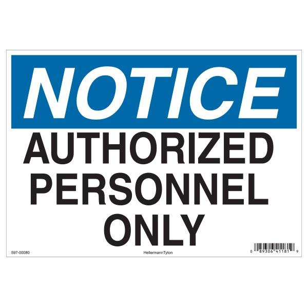 Notice Sign, 7