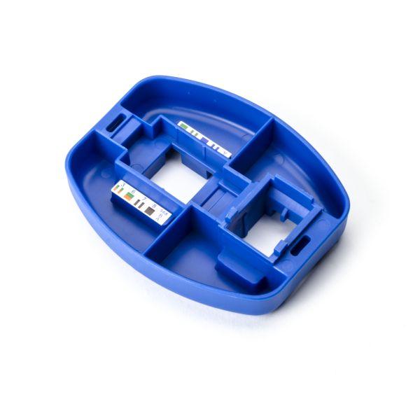Punch Down Installation Palm Tool for Modular Jacks, Blue, 1/pkg