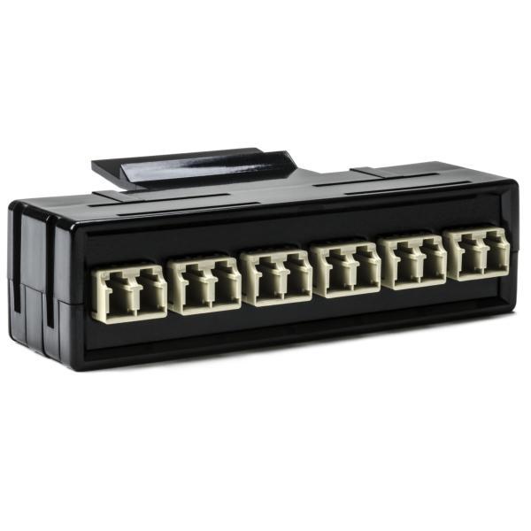 RapidNet Fiber Adapter Panel 6 DUP, MM, LC Beige 1/pkg