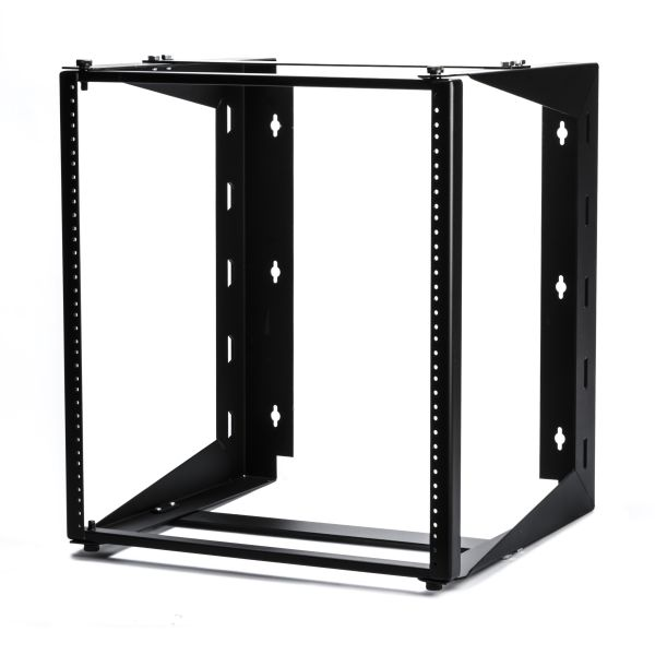 Wall Mount Swing-Out Rack, 12U, 18.0