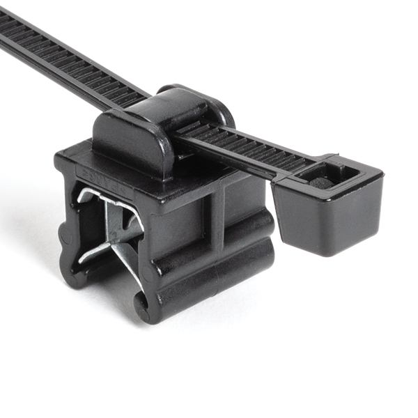 2-Piece Cable Tie & Edge Clip, 8.0