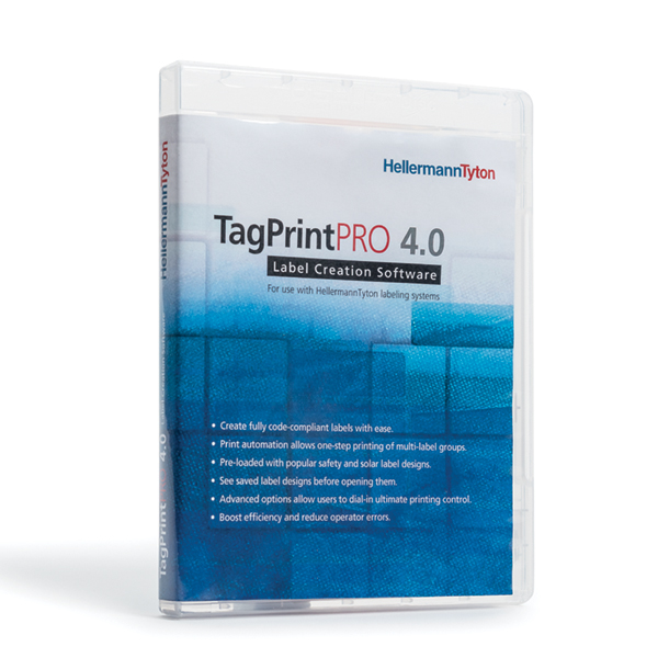 TagPrint Pro 4.0, Label Printing Software, Upgrade, 1 User to 3 User, Serial # Required, 1/pkg