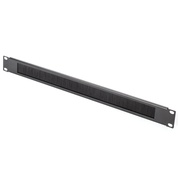 Blank Rack Panel, 1U, Steel, Black, 1/box