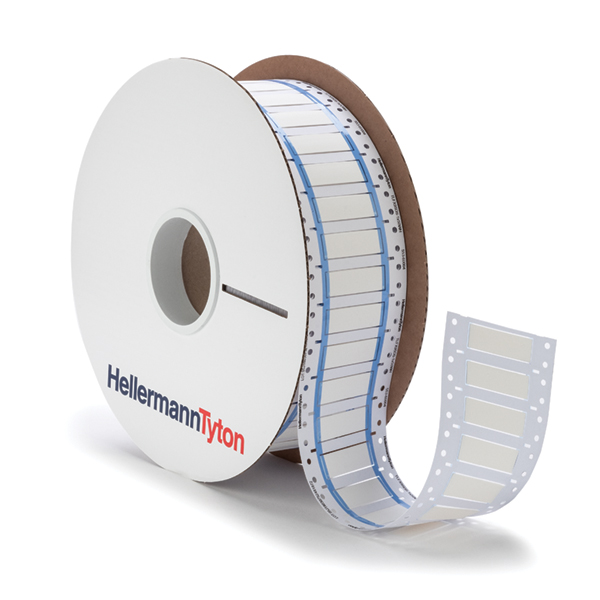ShrinkTrak Labels, 2-Sided, Unslit, Halogen Free, 1.97
