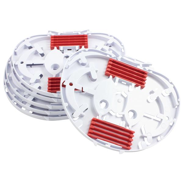 IR Single Element SE Tray with 2 x 4 Way Ribbon Insert, White, 6/pkg