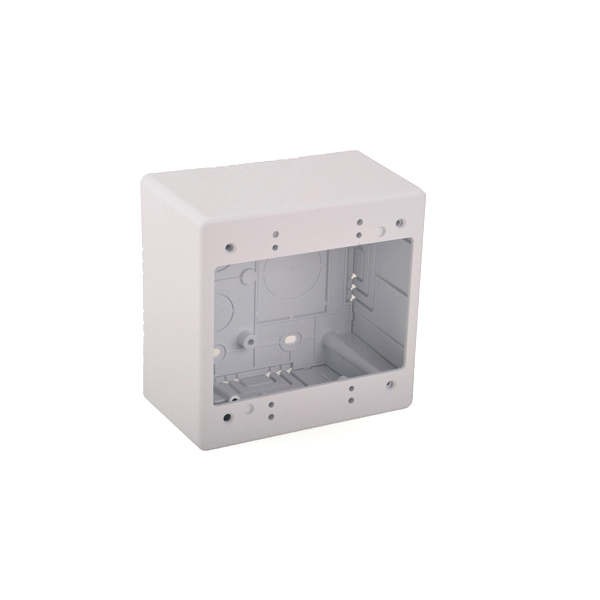 Dual Gang Junction Box, 2.77