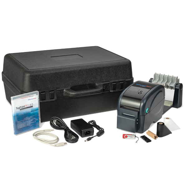 TT130SMC Compact Thermal Transfer Printer Kit with Cutter, 300 dpi, Black, 1/pkg