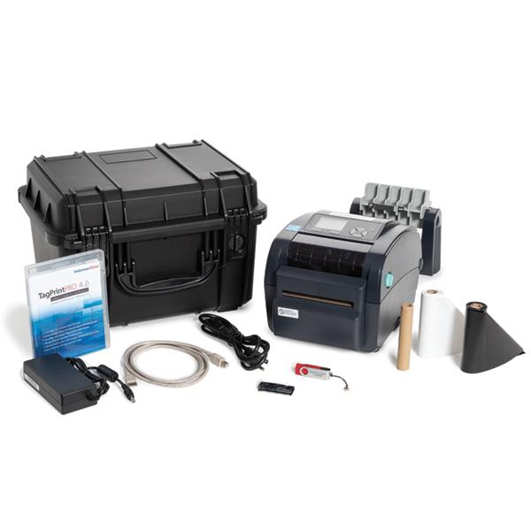 TT230SMC Thermal Transfer Printer Kit with Cutter, 300 dpi, Black, 1/pkg