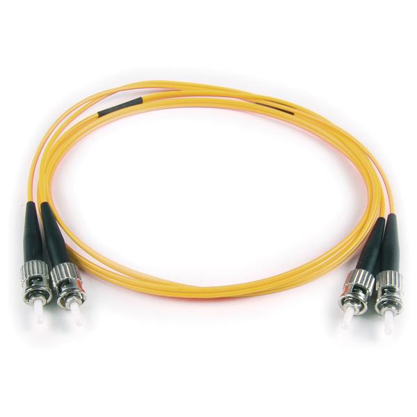 FT ST - ST Duplex OS2 Fiber Assembly, 3M, Yellow, 1/pkg